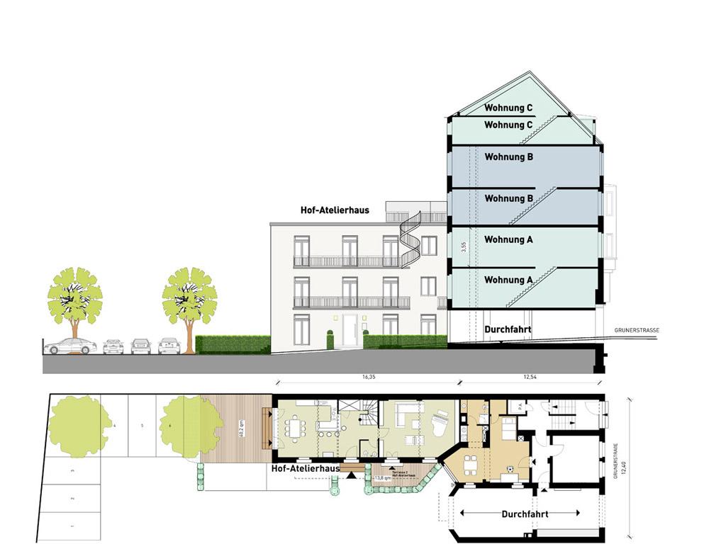 Mehrfamilienhaus Planung