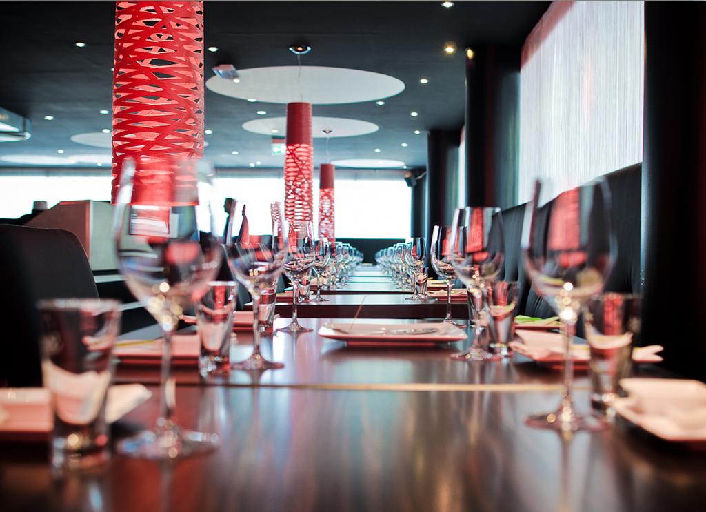 Gastronomie Tokyo Lounge Architektur