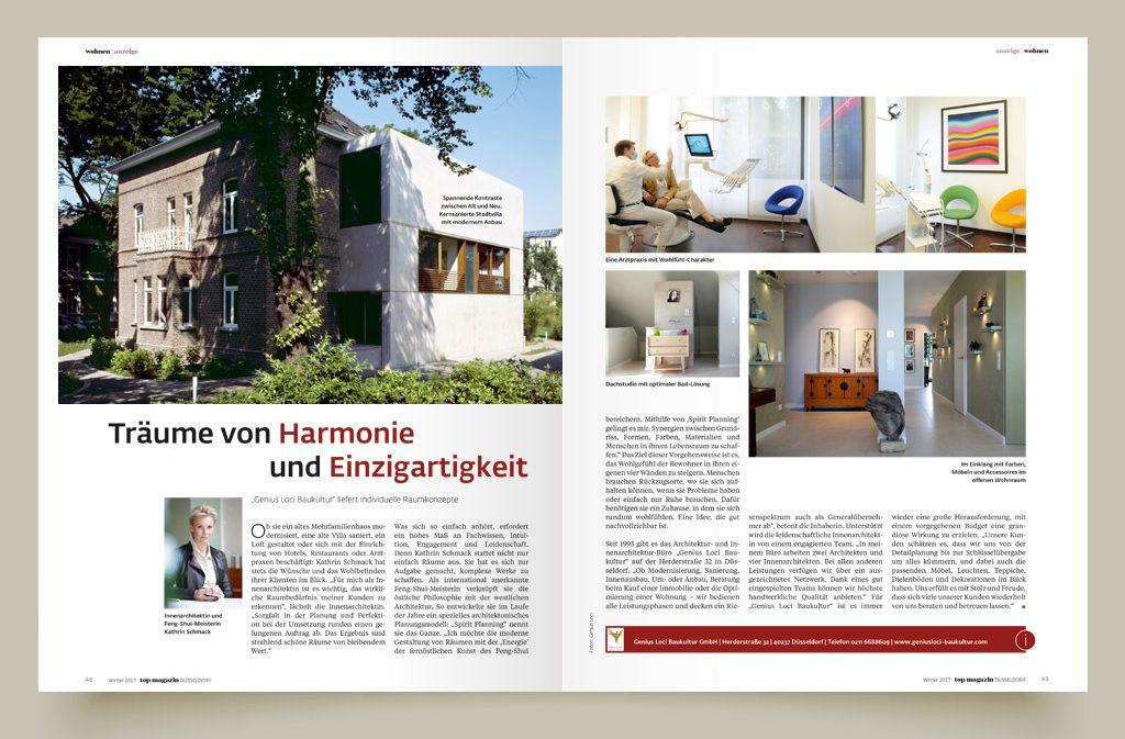 """Redaktioneller Beitrag im """"TOP Magazin"""""""
