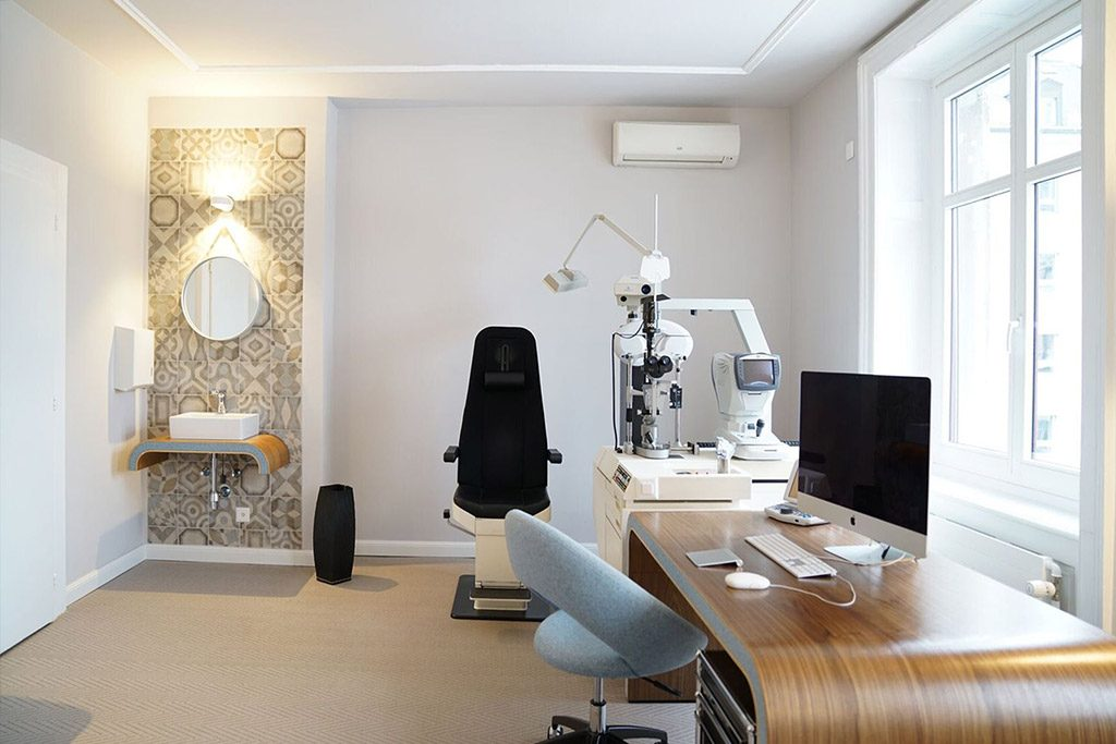 Augenarztpraxis: Modernisierung, Umbau