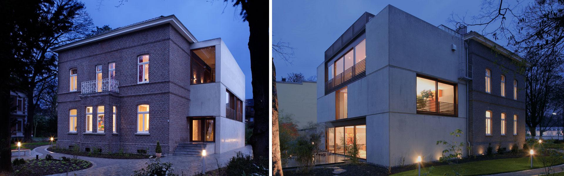 Architektur Innenarchitektur Düsseldorf Bauen im Bestand